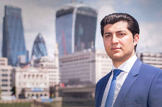 London location City headshot for LinkedIn